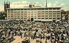 ALBANY NY LYNN BLOCK AND PUBLIC MARKET CIRCA 1914 P/C
