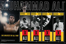 Guyana 2013 MNH Muhammad Ali 4v M/S Greatest All Time Boxing