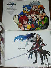 Kingdom Hearts Visual art collection Art Book Japanese