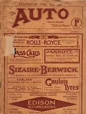 1913 Auto October 4-Daimler, Simplex, Cycle cars,Motorcycles;Lighting supplement