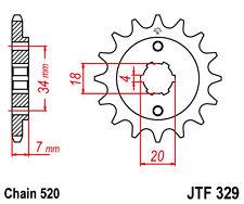 Ritzel 12 Zähne - 520 Teilung Honda CA 125 Rebel  JC24 1996