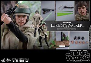 Complete Mms516 +Bonus Head +Bonus Cloak Luke Skywalker Star Wars ROTJ Hot Toys