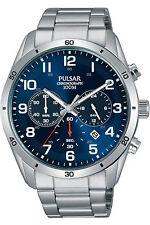 PULSAR PT3829,Men's Chronograph,QUARTZ,STAINLESS CASE,Bracelet,Brand New,100m WR