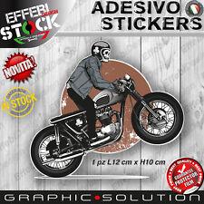 Adesivi Stickers MOTORBIKE SKULL ACE CAFE RACER LONDON GENTLEMANTS GHOST RIDER