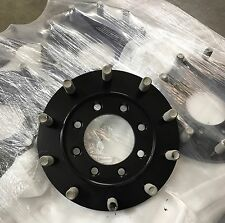 Steel 22.5 Semi Wheel 8 To 10 Lug Dually Adapter