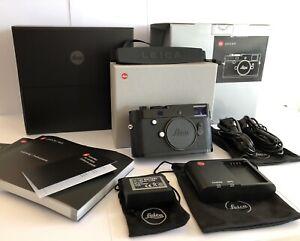 Leica MP Typ 240 Black Paint Boxed 24.0 MP Full Frame Digital Camera Body