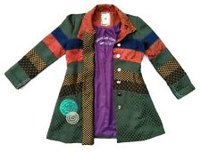 Paparazzi By Biz Embroidered Colorful Pattern Jacket Coat Women's Size Large