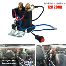 12V Auto Dual Battery Isolator Car Battery Start Battery Switch Controller Relay