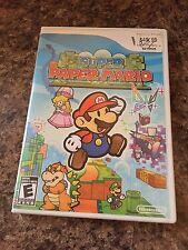 Super Paper Mario Nintendo Wii Game Cib Complete Works W1