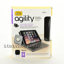OtterBox Agility Portfolio Case Cover w/Keyboard Wall Mount for iPad Air 2 Black
