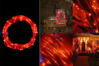 2/3/4M LED Silver String Fairy Lights Indoor/Outdoor Xmas Christmas Decor Party