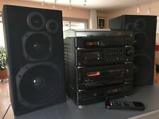 Musikanlage Delta W-400 Verstärker, Plattenspieler, Radio, Casetten, CD,Fernbed.