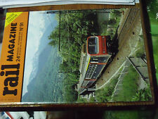 10µ Revue Rail Magazine n°91 231 K8 Chapelle Chapelon TGV S.E Z6400 CC6500