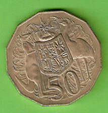 1972  AUSTRALIAN ALMOST UNCIRCULATED 50 CENT COIN
