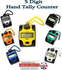5 Digit Digital  LCD Electronic Hand  Tally Counter For Tasbeeh Golf Dock