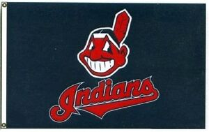 Baseball Cleveland Indians  3 X 5 Flag