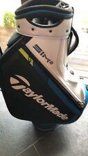 TaylorMade SIM2 Tour Golf Staff Bag 2021 - Black/White/Blue