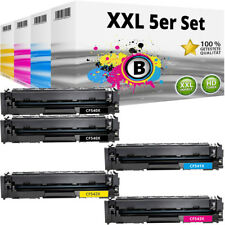 5 XL Toner für HP 203X CF540X LaserJet Pro MFP M254 DW M280 NW M281 FDN M281 FDW