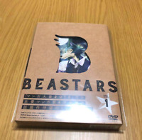 New BEASTARS Vol.1 First Limited Edition DVD Soundtrack CD Booklet Card Japan