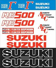RG500 1986 Decal Kit