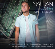 Nathan Carter Livin' The Dream CDs New  /Country/Irish/Music/2017/Summer/Dublin