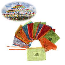 5.2 Meter Long Tibet Buddhist Prayer Flags Tara Drolma & Goddess Scriptures Flag