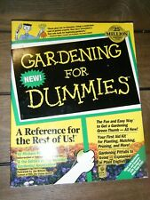 Gardening for Dummies by MacCaskey, Michael -ExLibrary