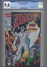 Silver Surfer V3 #53 CGC 9.6 1991 Marvel: Infinity Gauntlet Crossover: NEW FRAME