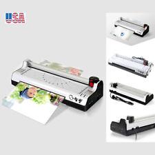 220v 9 A4 Photo Laminating Machine Photo Laminating Hotcold Roller Office Use