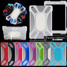 "For Various 7"" 8"" 10.1"" Tablet - Universal Shockproof Silicone Stand Cover Case"