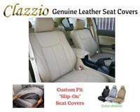 Clazzio Genuine Leather Seat Covers for 2009-2018 Toyota Venza Beige