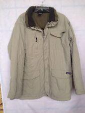 ~MENS PATAGONIA Winter  Beige Mens JACKET COAT Size Medium