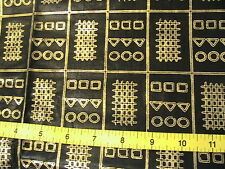 AFRICAN SOTIBA SIMPAFRIC DAKAR 1999 RARE 100% quality cotton sew fabric SCANT YD