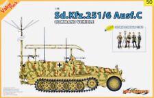 Dragon Cyber Hobby 1/35 Sd.Kfz.251/6 Ausf.C Command Vehicle w/Staff Item #9150