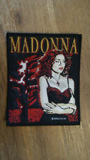 Madonna Burning Cross 1989 popstar Sew On patch vintage music