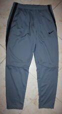 NWT Men's NIKE Epic Knit Athletic Pants Gray/Black - Large
