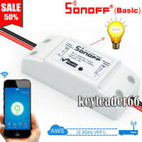 Sonoff ITEAD TH10 TH16 Pow Smart Home WiFi Wireless Switch Module Fr APP Control