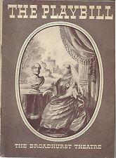 1936 Playbill VICTORIA REGINA Helen Hayes Vincent Price