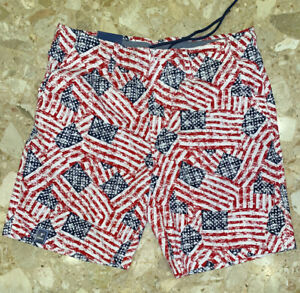 Men's Shorts Stars and Stripes Size 38 Charleston Threads Patriotic July 4th