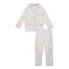 Bluezoo White Star Print Pyjama Set Age 11-12 Years TD180 UU 02