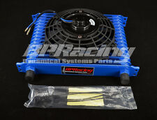 15 rows AN10 High Performance Transmission Engine Blue Oil Cooler Blue + Fan
