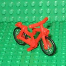 LEGO Red Bike Bicycle Friends City Town Sports cycle for minifigure minifig