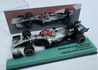 MERCEDES AMG F1 W10 EQ POWER+ Hamilton Monaco GP 2019 1:43 MINICHAMPS 447 190644