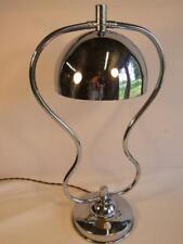 Art Deco Chrome Lamp .