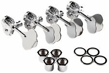 """Genuine Fender """"F"""" Stamp American Std/Deluxe P/J Precision/Jazz Bass Tuners Set"""