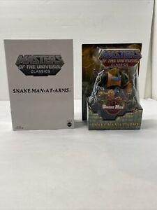 Masters of the Universe Classics Snake Man At Arms Figure - MOTUC MOTU