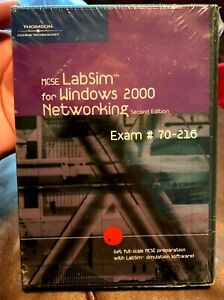 MCSE LabSim for Windows 2000 NETWORKING EXAM #70-216 - NEW - 2nd Edition Prep