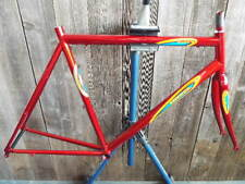 NOS Bertin Frame and Fork (54 cm) w/Butted Steel Tubes...Red Finish...Last One