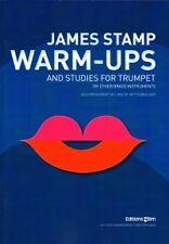 WARM UPS & STUDIES FOR TRUMPET Stamp Eng/Fr/Ger