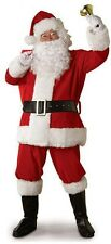 Santa Claus Mens Red Costume Christmas Suit, Red, Size XL, New  Cosplay HOT